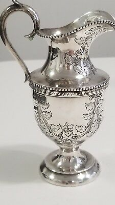 Kirk & Son Sterling Silver Pitcher.  1870'S