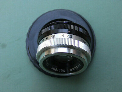 Soligor photo enlarging lens