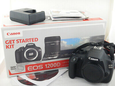 Canon 1200D Body Corpo 7224 Scatti Shots Excellent + BOX Scatola Software