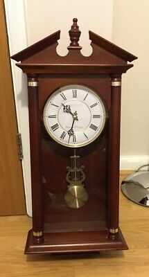 London Clock Co -Westminster Whittington Pendulum Wall Clock SPARES or REPAIRS
