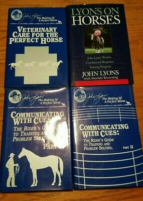 John Lyons The Making of a perfect horse series 4 excellent condition hard cover