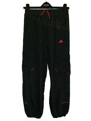 Boys ADIDAS Cuffed Combat Style Tracksuit Bottoms Age 15-16 Years