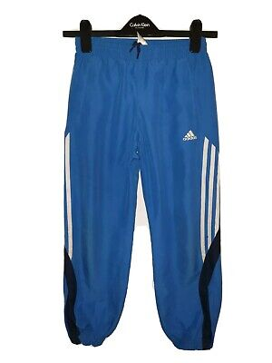 Boys ADIDAS Tracksuit Bottoms Age 9-10 Years