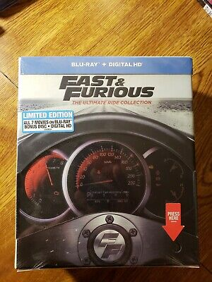 Fast and furious 7 movie collection Ultimate Ride Collection Brand New Sealed