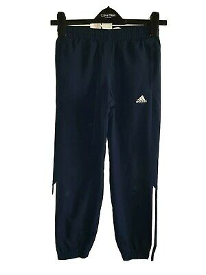 Boys ADIDAS Climalite Tracksuit Bottoms Age 9-10 Years