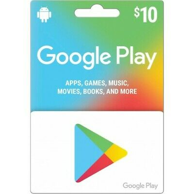 Google Play Gift Card 10$ USA (Instant Email Delivery)