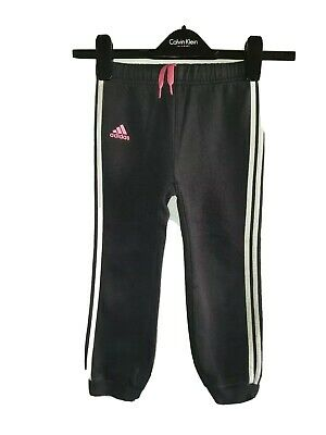 Girls ADIDAS Tracksuit Bottoms Age 4-5 Years