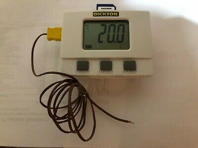 Dickson SM320 LCD Display Temperature Data Logger