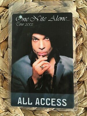 Prince One Night Alone All Access Tour Pass