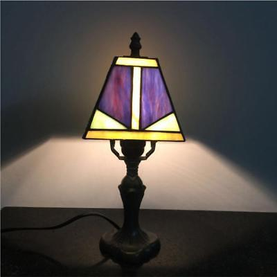 New Stained Glass Tiffany Style Table Desk Bedside Home Decor Lamps Lamp Light