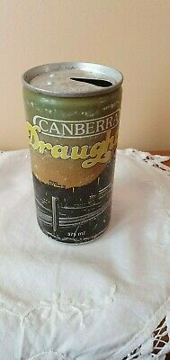 Canberra Draught Beer Can - Empty