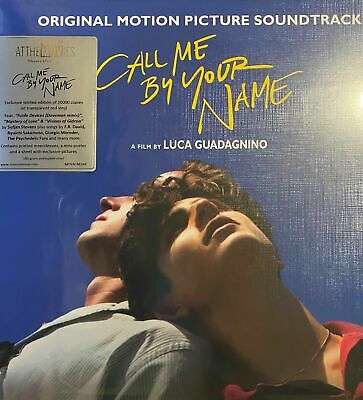 Call Me By Your Name Soundtrack 2xLP RED VINYL LOW Numbered New & Sealed