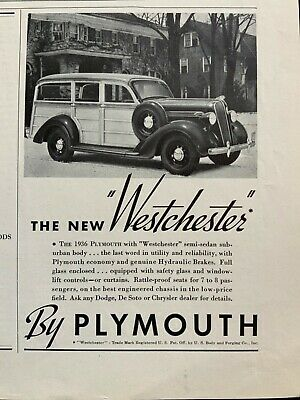Ref. #67262 1936 Plymouth P1 Business Coupe Factory Photo Armours Meats