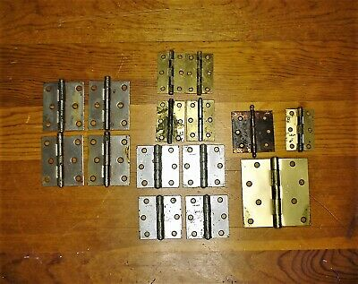 VINTAGE HINGES, REDUCED!!!, STANLEY AND McKINNEY 3 COMPLETE SETS OF 4 AND 2 MO
