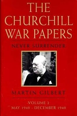 CHURCHILL WAR PAPERS: AT THE ADMIRALTY(VOL. 1) By Martin Gilbert - Hardcover VG+
