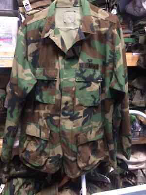 Army Cold War BDU SHIRT EXTRA LARGE LONG XL-L coat combat 85 DATED airborne