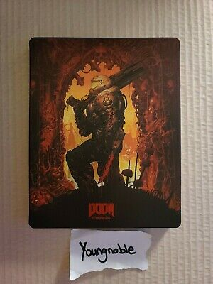DOOM Eternal Steelbook from the Collectors Edition  No Dents Steel Book