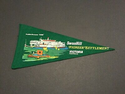 Collectable Swan Hill Pioneer Settlement Victoria Pennant.