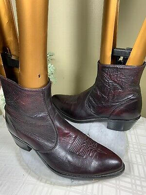 Laredo Men Brown//Rust Leather BART Cowboy Approved Boots Resistant Size 10.5 D