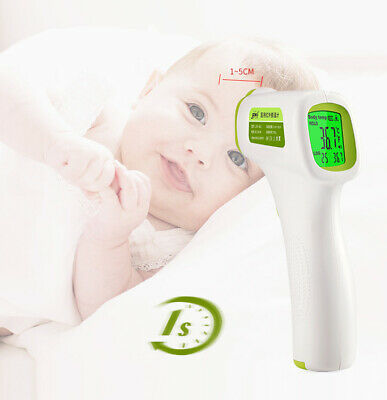 Baby Adult Digital LCD Thermometer Infrared Forehead Non-touch Temperature Gun