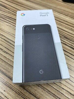 Google Pixel 3 - 64GB - Just Black (Unlocked) No Marks Or Scratches