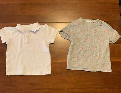 Country Road Tshirt And Polo Shirt Sz 12 To 18 Months