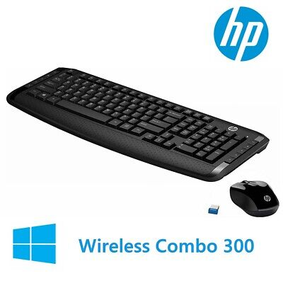 Wireless Keyboard and Mouse HP Classic Desktop Combo Bundles For Laptop USB