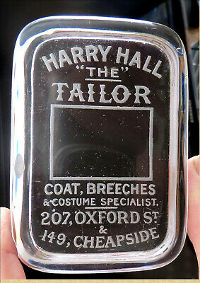 """Vintage Harry Hall - Harry """"The"""" Tailor Glass Piece...*^"""