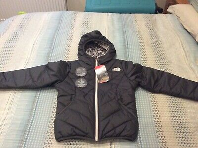 The North Face Girls Reversible Puffa Jacket/ BNWT/ Small /5-8 Years /Rrp £95