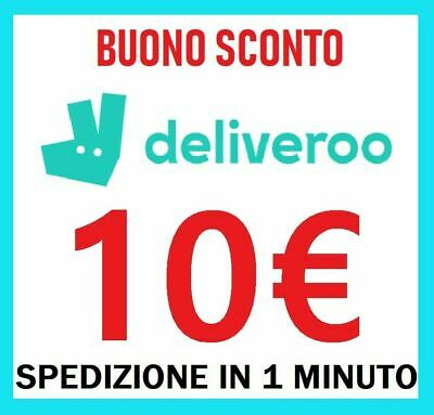 10€ Deliveroo Coupon Sconto Codice Immediato Buono Voucher $