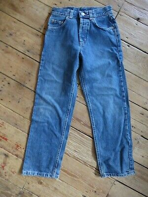 "Vintage Kids Sisley Jeans Waist 23""  high waist early c2000s leg 23"" Perfect Con"