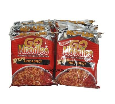 KO-LEE Instant Noodles Xtreme Hot & Spicy Flavour Chilli Pack Of 6 Brand New