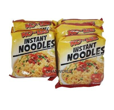 KO-LEE Instant Noodles Tomato Flavour Pack Of 5 x 70g Noodle Brand New PK