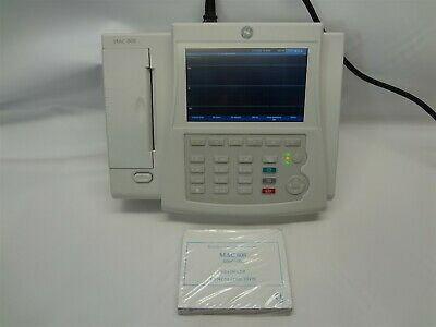 GE MAC 800 Electrocardiograph (ECG) Analysis System *Tested*
