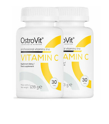 VALUABLE VITAMIN C PACK OF 2 JARS VIT C 1000mg Immune System BOOSTER Tablets