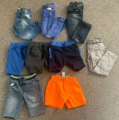 Boys 3-4 Years Bundle Shorts Jeans Next Bottoms Chinos Swimshorts Summer Spring