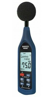 REED R8080: Data Logging Sound Level Meter with Bargraph