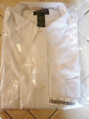 Edwards Garment Adult Casual Long Sleeve Button Front Security Shirt 1275
