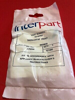Baxi Potterton Gas Spare Frost Thermostat Part No 10/18764 - Genuine Sealed Bag