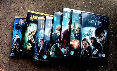 DVD Harry Potter Complete Collection - Years 1 to 7