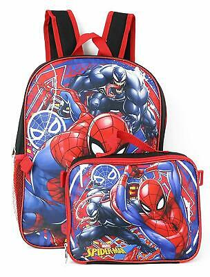 Marvel Ying-Yang Black Spider-Man Kids Boys Backpack Book-bag  NWT