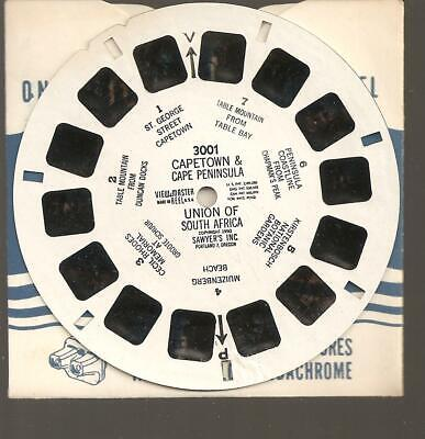 Capetown South Africa - Viewmaster reel 3001