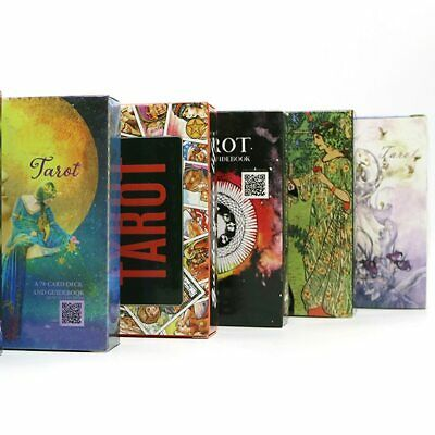 9 style tarot cards English version divination playing cards tarot deck for