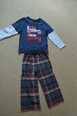 Boys NEW M& S  Marks & Spencer Autograph Pyjamas Age 3 - 4 years
