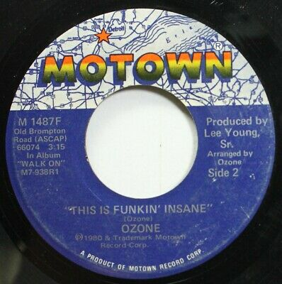 Soul 45 Ozone - This Is Funkin' Insane / Walk On On Motown