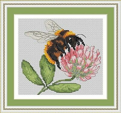 Bee Cross Stitch Chart