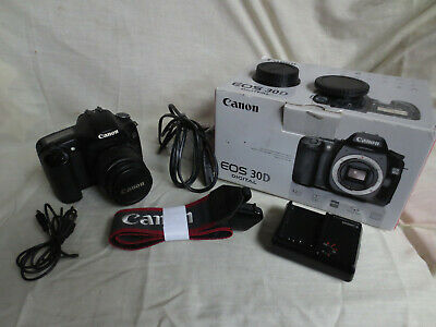 Canon 30D with Canon 28-105mm lens, boxed