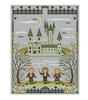 Harry Potter & Castle Cross Stitch Chart