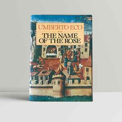 Umberto Eco – The Name Of The Rose – First UK Edition 1983 - 1st Book