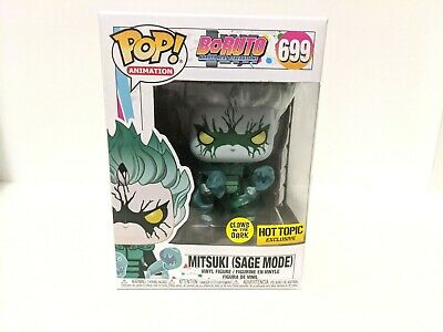 Mitsuki Sage Mode GITD Boruto Naruto Shippuden Funko Pop! Hot Topic 699